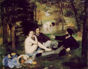 Edouard Manet Le Déjeuner sur l'Herbe (The Picnic)